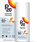 P20 ® | Crema Solar Niños | Protector solar para niños spf 50 muy alta y resistente al agua para una protección fiable frente a los rayos UVA y UVB | Formato Crema | 100 Ml