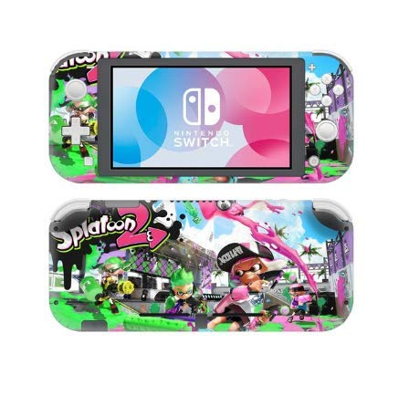 Shoptonskin New Splatoon 2 Stickers para consola y controlador Nintendo Switch Lite Joy-con Protector Switch Lite Vinyl Sticker: Amazon.es: Videojuegos