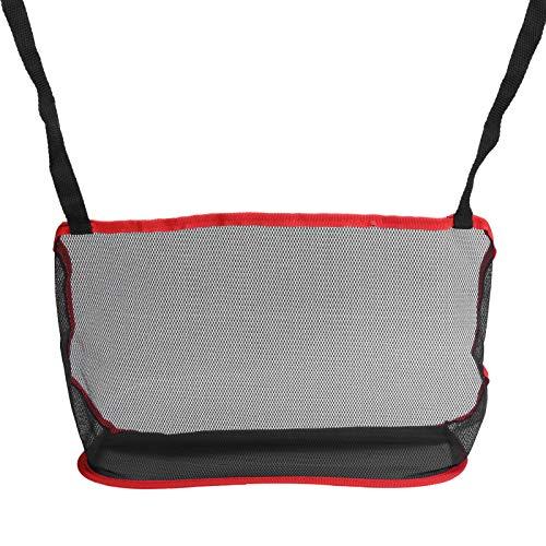 Shipenophy Red de Almacenamiento del Asiento Bolsillo para el automóvil Bolsillo para el Bolsillo de la Red para el automóvil Soporte para el Bolso del automóvil Organizador de Gran Capacidad(Red)