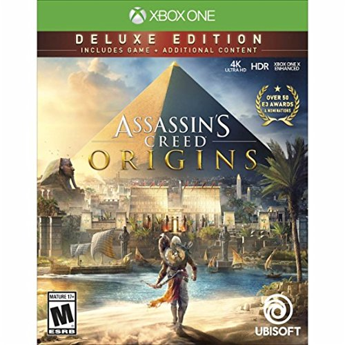 Assassin's Creed Origins Deluxe Edition Xbox One アサシンクリードオリジンズデラックスエディション北米英語版 [並行輸入品]