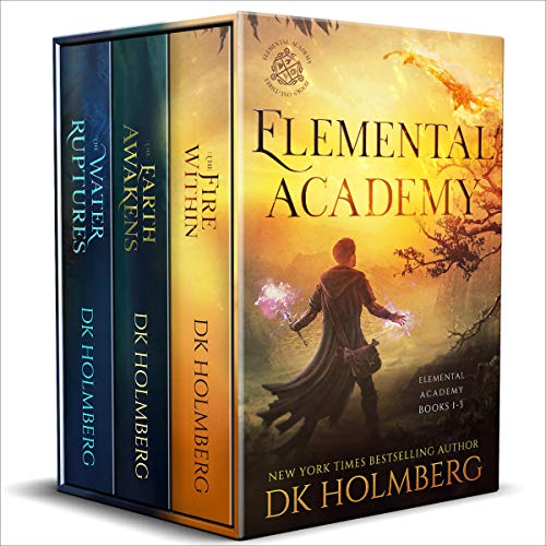 Elemental Academy Boxset Audiobook By D.K. Holmberg cover art