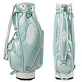 MOMIN Ligera Soporte del Golf Bolsa Golf de Las señoras Bolsa de Luz BlueLightweight Golf del Organizador del Recorrido Lleva el Bolso for Las Mujeres,...