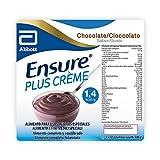 Ensure Plus Creme Budino Proteico | Confezione 4x125ml | Gusto Cioccolato