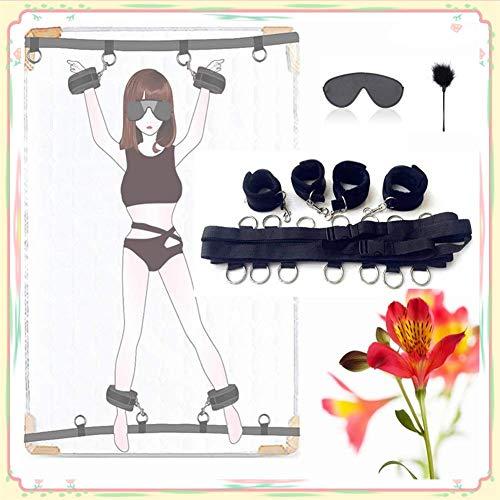 Juego de accesorios de funda nórdica, trabilla para cinturón y hebilla, que incluye cinturón de gimnasia, gafas y bastón de bádminton