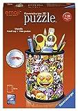 Ravensburger- Puzzle 3D 54 pièces Pot à Crayons Emoji Enfant, 4005556112173