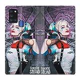 Schutzhülle für Samsung Galaxy A21S, Leder, Motiv: Harley Quinn Batte