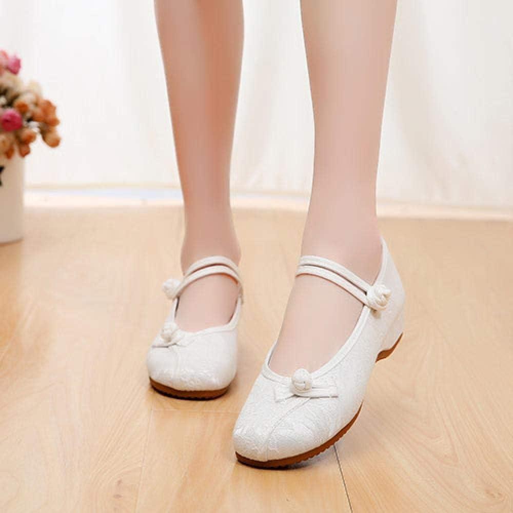 FHSMRING Women Sale Jacquard Cotton Flat Soft Super popular specialty store Ballerinas Woman Shoes