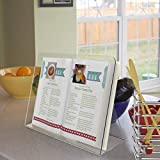Premsons® Acrylic Cookbook/Recipebook Holder, Transparent