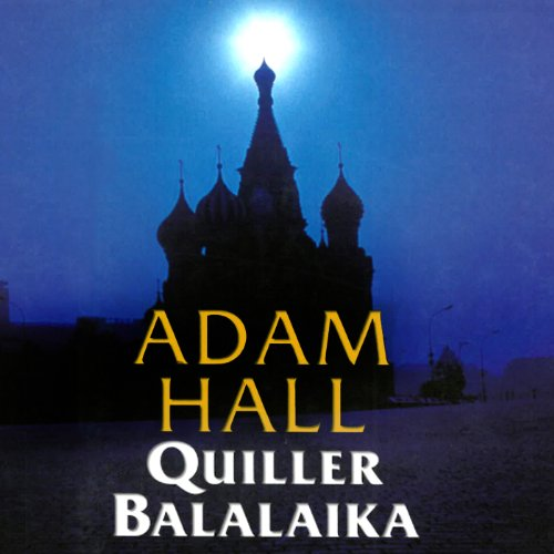 Quiller Balalaika audiobook cover art