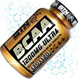 BCAA Tablets, 1200mg Branched Chain Amino Acids by Gold Tech Nutrition - BCAA+