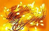 JAGGER Yellow Led String Strip Decoration Lights of 18 Meter led Serial Bulbs Decoration Lighting for Diwali Christmas Navratri Decorative Dussehra