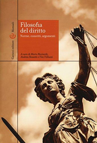 Filosofia del diritto. Norme, concetti, argomenti