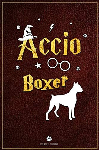 Accio Boxer: 100 Page Boxer Notebook ~ Accio Journal (6x9)