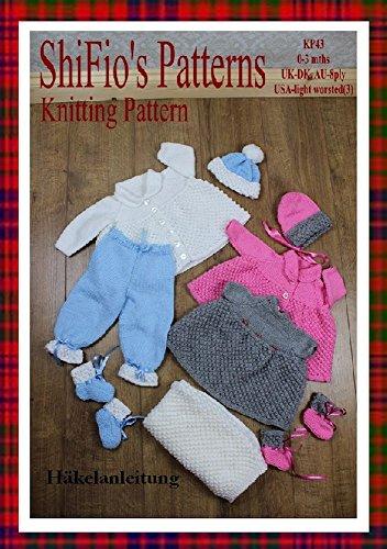 Strickanleitung – KP43 - Babyjacke, Mütze, Kleid, Hose, Decke - für Jungen und Mädchen