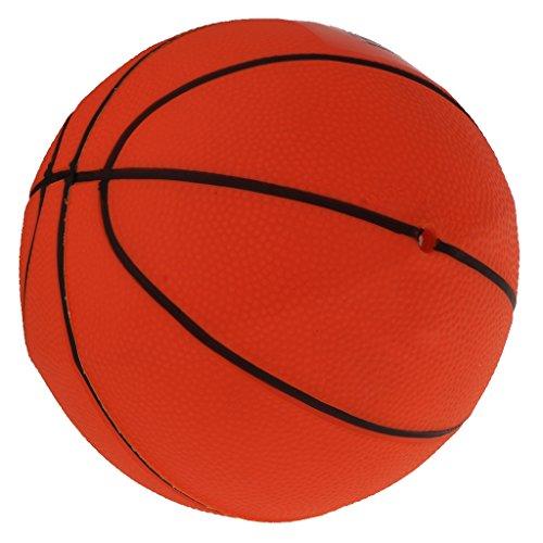 Amagogo 8.5 '' Juguete Inflable Plástico del Partido de La Playa de La Piscina de Los Niños de La Bola de Playa del Baloncesto - Rojo