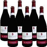 Sangue di Giuda dell' Oltrepò Pavese Doc | Il Pozzo | Vino Rosso Dolce Frizzante | Confezione da 6 Bottiglie da 75 Cl | Idea Regalo