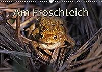 Am Froschteich (Wandkalender 2022 DIN A3 quer): Kroeten & Co. (Monatskalender, 14 Seiten )