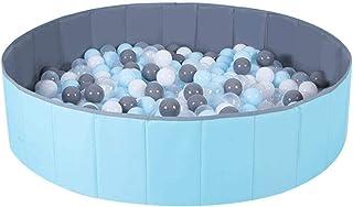 NCONCO Ogrodzenie do zabawy dla dzieci przenośne składane dziecko ocean piłki do zabawy na basen