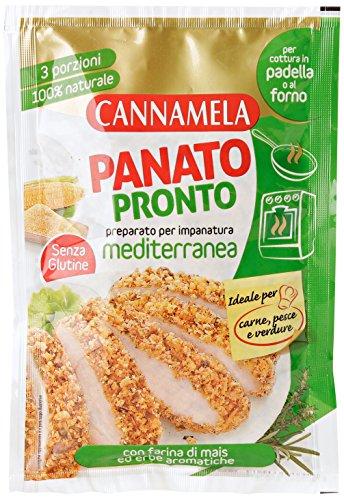 Cannamela Panato Pronto Preparato per Impanatura Mediterranea - 80 gr