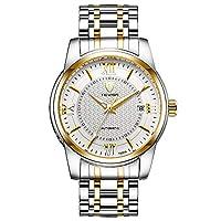 Men's watch おざなりメンズ腕時計レインコート・テーベス・テーベス発光時計カレンダー watch (Color : 4-38mm)