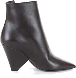 SAINT LAURENT Luxury Fashion Womens 5438380RR001000 Black Ankle Boots | Season Outlet