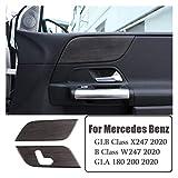 ZHIXIANG ABS Oak GRANY FIT FOR Mercedes Benz B GLA GLB Clase W247 X247 180 200 2019 2020 Accesorios DE Accesorios DE Coche Accesorios Name : Oak Wood Grain