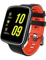 スマートウォッチ、Yamay 1.54インチHD画面スマートブレスレット 心拍計 活動量計 多機能腕時計 Bluetooth通話機能搭載(SIMカードなし) SMS通知 歩数計 消費カロリー ストップウォッチ 睡眠検測 座りっぱなし警告 遠隔音楽 IP68防水 水泳可能 日本語説明書 iphone&Android対応 (グリーン)