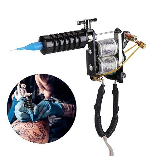 Ensemble d'outils de tatouage, Accessoires d'aiguille de puissance de machine de tatouage de doublure Shader Ensemble professionnel d'artiste de tatou
