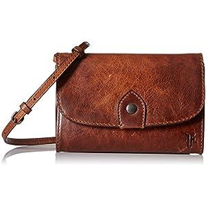 FRYE Melissa Wallet Crossbody Clutch Leather Bag 14