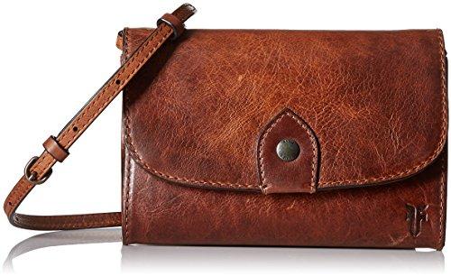 FRYE Melissa Wallet Crossbody Clutch Leather Bag 1