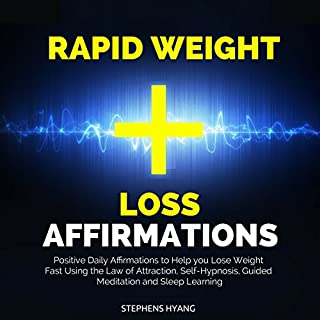 Rapid Weight Loss Affirmations cover art