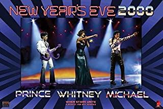 POP R&B SOUL CONCERT POSTER Prince - Whitney Houston - Michael Jackson RARE HOT NEW 24x36