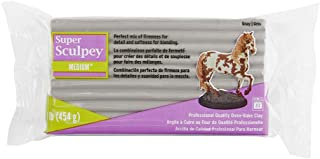 Sculpey Pâte Polymère, Gris, 15.08 x 7.62 x 3.97 cm
