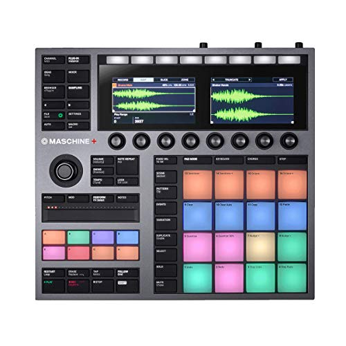 NATIVE INSTRUMENTS MASCHINE+ Controlador MIDI DJ