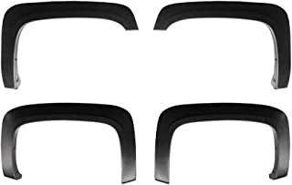 Factory Style Fender Flares Compatible with 2007-2013 Chevy Silverado 1500 2500HD 3500HD 6.5' & 8' Bed | Excl. 2007 Classi...