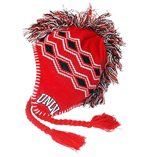 Top of the World NCAA Cold Front Knit Mohawk Cap -  Rot -  Einheitsgröße