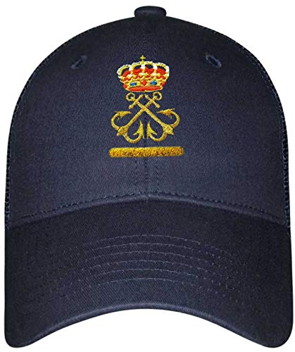 Gorra Lisa Patrón de Embarcación de Recreo (per)