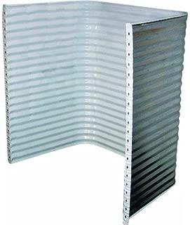 corrugated egress window well