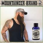 Beard Oil by Mountaineer Brand, WV Timber, Scented with Cedarwood and Fir Needle, Conditioning Oil, 2 oz bottle 4