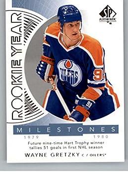 2017-18 SP Authentic Rookie Year Milestones #RYM-WG Wayne Gretzky Edmonton Oilers