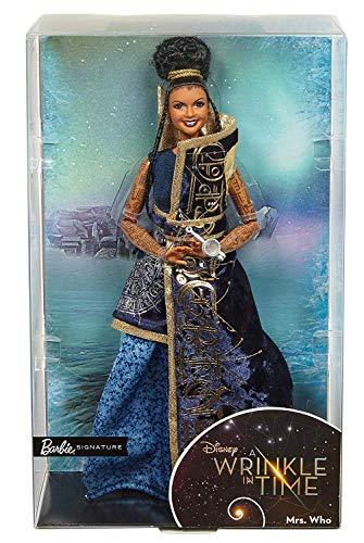 Barbie- Signora Chi,dal Film Disney nelle Pieghe del Tempo, Multicolore, FPW24