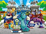 Monsters Backdrop   Birthday   Baby Shower   For Boy   Girl   Party Supplies   Banner   Photography