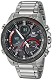 Casio Men's Edifice Quartz Watch with Stainless-Steel Strap, Silver, 21 (Model: ECB-900DB-1ACF)