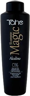 Tahe Magic BX Champú Alcalino con Colágeno Aceite de Argán Keratina y Ácido Hialurónico 1000 ml