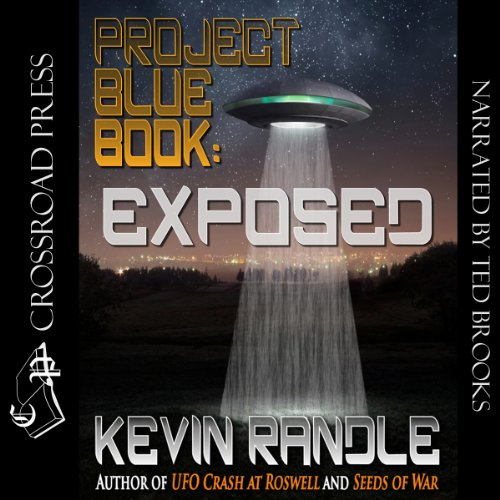 Project Blue Book: Exposed audiobook cover art