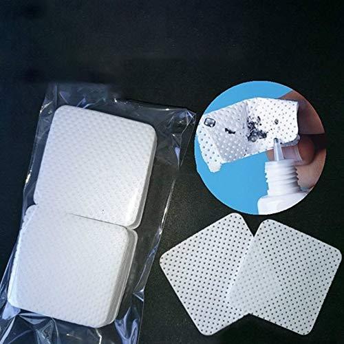 Puff cosmétiques Bea 100 PCS/sac jetable Cils colle Extension démaquillante Pad coton cosmétiques outil de nettoyage