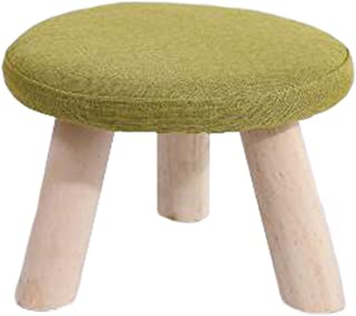 Alien Storehouse Repose-Pieds Tabouret Rond Banquette Repose-Pieds Tabouret Amovible, 3 Pattes, Vert