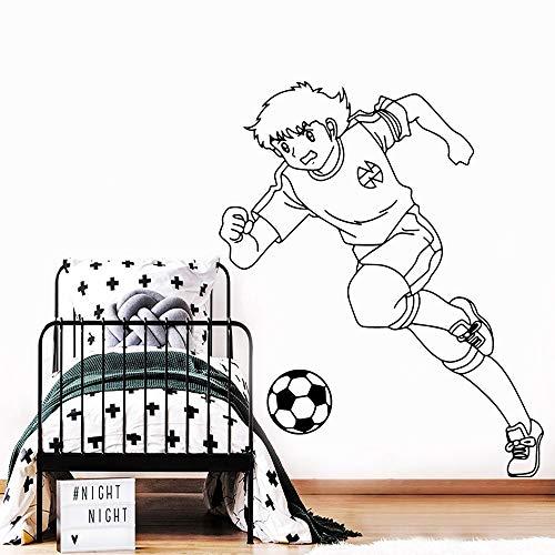 Tianpengyuanshuai Romantische Fußball Vinyl Möbel Dekoration Baby Art Deco 42X51cm