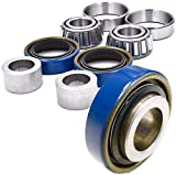 HD Switch (1 Kit) Front Wheel Bearing Rebuild Kit Replaces Scag 482621, 482622, 43584 - OEM Upgraded Seals