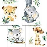 LALELU-Prints | A3 Poster Kinderzimmer Deko Junge Mädchen